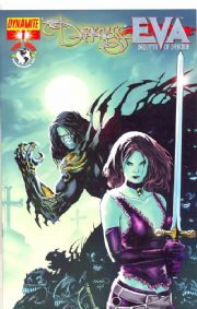 The Darkness vs. Eva #1 Foil Variant Edition Dynamite Entertainment